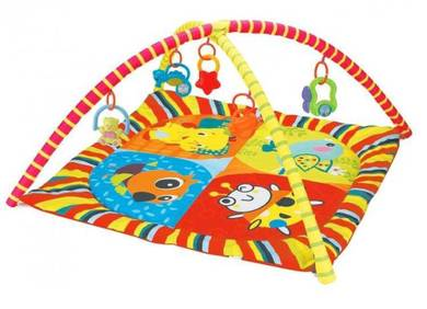 Baby Safari Fun Twist and Fold Activity Gym and Pl