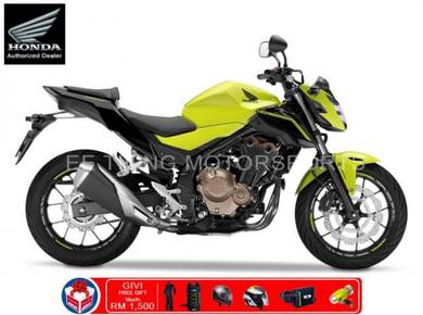 Honda CB500F 471cc 49HP New Year Promotion