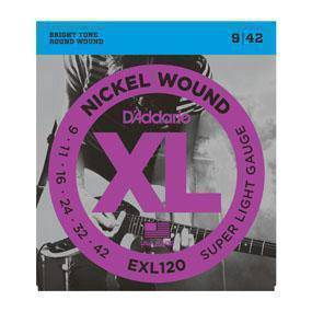 D'Addario EXL120, Electric Guitar String