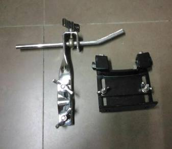 Mounting cymbal & bass drum mounting