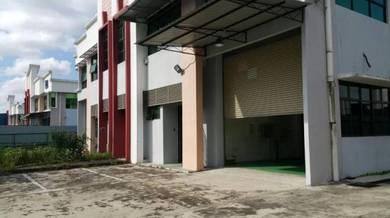Taman Desa Cemerlang 1.5 Storey Semi D Factory