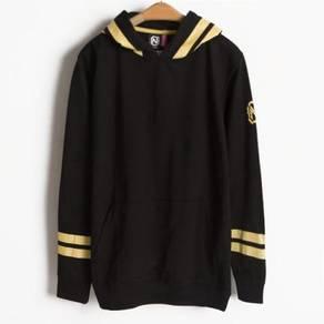 D.HOMME Hoodies Black Sweatshirt Pullover Sweater