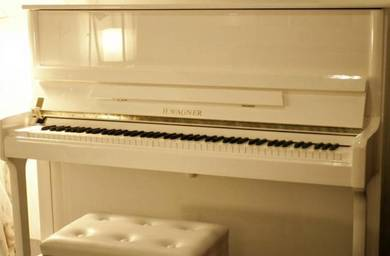 WAGNER SE120wh Piano 10 Yrs Factory Warranty