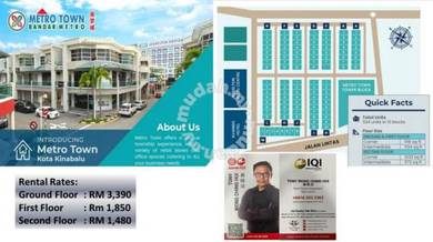 Metro Town ShopLot & Office Lot for RENT