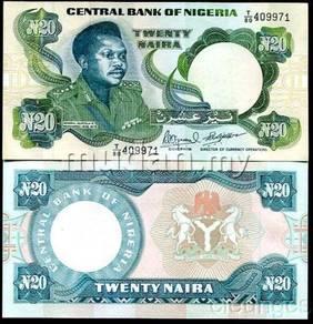 Nigeria 20 Naira 1984 P 26 e UNC
