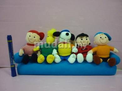 SNOOPY Peanuts Plush Toys set