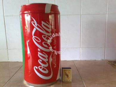 Balang coca cola coke storage tin