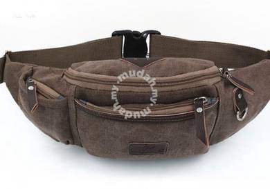 Trooper Pouch Sport Chest Men Waist Bag (Coffee)