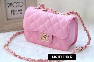 Cute Girl Korean Chanel Inspired Handbag