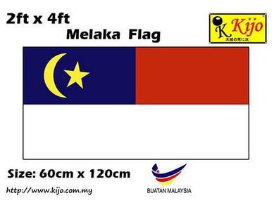 60cm X 120cm Melaka Flag