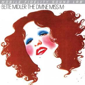 Bette Midler The Divine Miss M Numbered Limited Ed