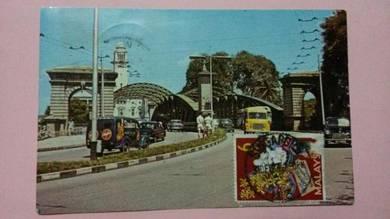 Antik Postcard Anderson Bridge 1960s PC 324