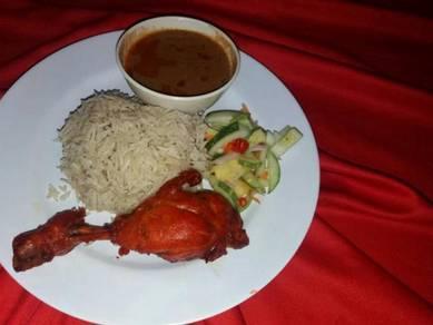Nasi Briyani Arab dan katering