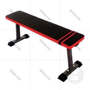 Flat workout bench