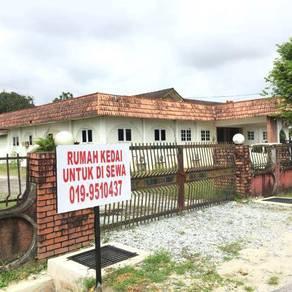 Rumah Pejabat / Rumah Kedai untuk Disewa