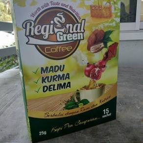 Regional green coffee
