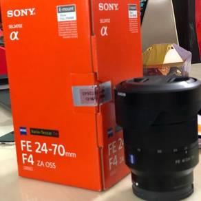 24-70Mm f4 ZA OSS Sony FE Zess Lens