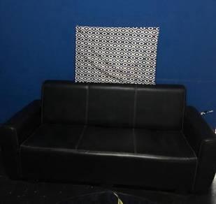Sofa Black 3seater
