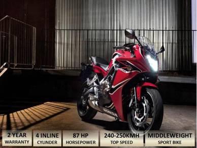 HONDA CBR 650F Free Ekzos Akra(Apply Online)