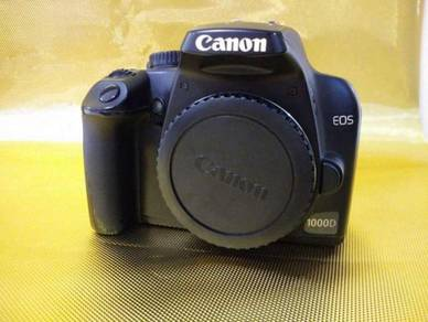 Canon 1000d body only