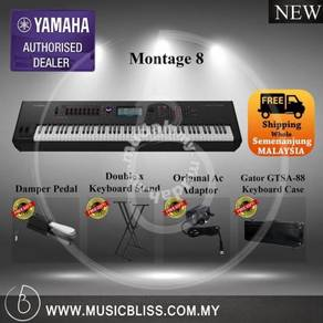 Yamaha Montage 8 Synth w/Gator Case (Montage8)