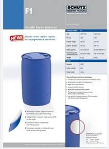 Brand new SCHUTZ HDPE PLASTIC 200L DRUM