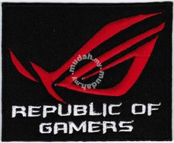Asus Republic Of Gamers ROG Computer Badge Patch