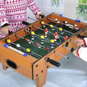 Wooden table top foosball 08