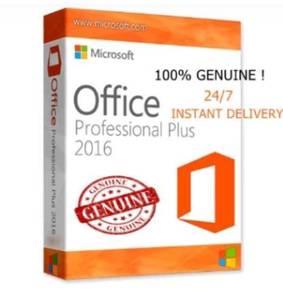 Microsoft office 2016/2013/2010 pro plus