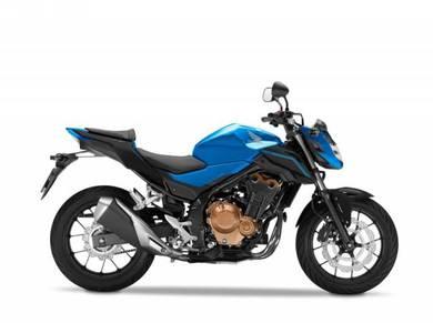 CB 500F Honda CB500F 17 Gift items Apply On9