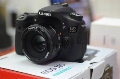 Canon 70d with 50mm 1.8