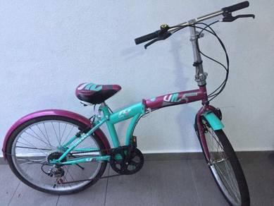 Foldable bicycle basikal lipat