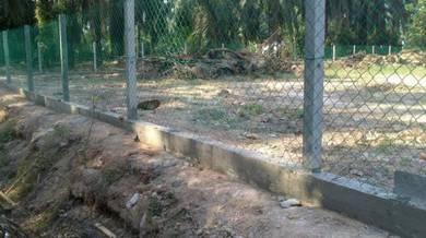 Pagar kawat Duri & Pasang pagar hijau & Mantin