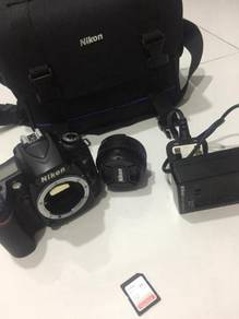 Nikon D90 DSLR , Fullset aksesories 4Sale