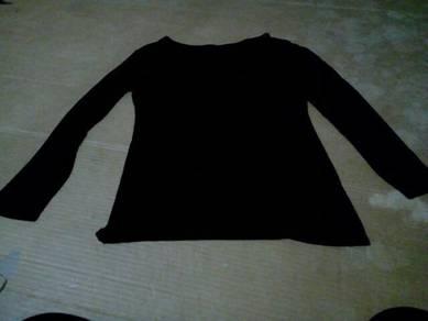 Baju hitam and kelabu