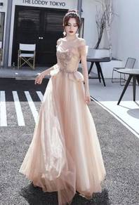 Nude wedding evening prom dress gown RBP1126