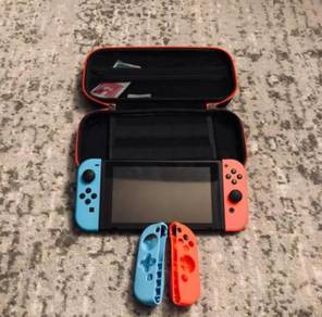 Re-ads Nintendo Switch Console