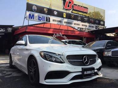 Mercedes W205 AMG C 63 style conversion