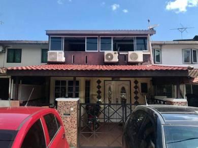 Double storey terrace taman melawati below market value