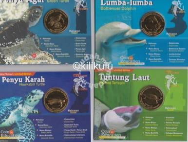 Malaysia Coin In Education Marine series 2006