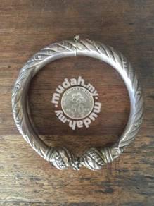 Antique Leg Bracelet Vintage Gelang Kaki Silver