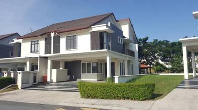 Freehold nice unit 2 storey semi detached precint 14, putrajaya