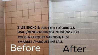 Vinyl Parquet Polish Marble Painting house offices