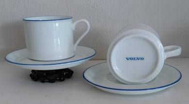VOLVO cup and saucer