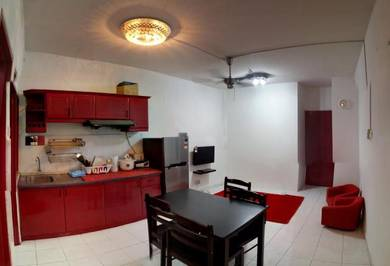 Cemara Apartment 3 Mnit Lrt & Ktm salak selatan midvalley free Utiliti