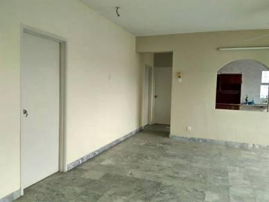 Pertiwi indah condominium taman maluri, unfurnished for rent