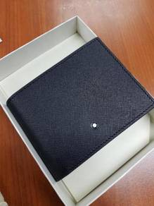 Montblanc Sartorial Black Leather 4cc Wallet With