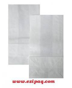 50gm White Bleached Paper Bag XS Size (100pcs)
