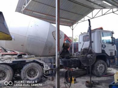 Fuso Nissan Scania Mixer Truck 6m3 & 9m3 drum