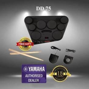 Yamaha DD-75 Digital Drum Kit With Adapter (DD75)